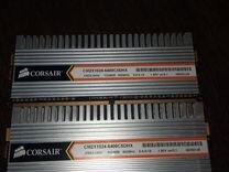 Оперативная память DDR2 2гб 2 плашки по 1 гб — Товары для компьютера в Геленджике